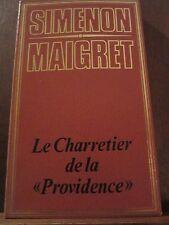 """Simenon, Maigret: Le Charretier de la """"Providence""""/ Edito-Service"""