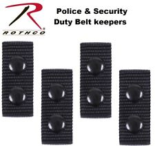 Belt Keepers Police Amp Security Tactical Duty Belt Keepers 4 Per Set 10584 Rothco
