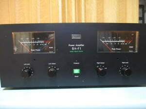 Sansui BA-F1 Stereo Power Amplifier Amp Used Diamond differential circuit Japan