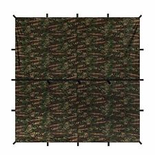 Aqua Quest Defender Tarp - 100% Waterproof - 3 x 3 m (10 x 10 ft) Square - Camo
