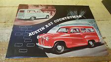 1958 ? AUSTIN A35 COUNTRYMAN  Original Sales Brochure