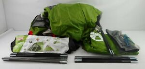 Coleman 2000007824 - 8 Person Dome Camping Tent with Screen Room (Large Green)
