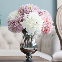 AS_ 1 pc Fake Silk Flower Bunch Party Floral Decor Hydrangea Novelty