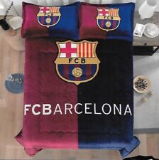 Barcelona Original Licensed Reversible Blanket Thick And Warm 3 Pcs Queen Size