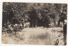 Seven Kings Park Essex RP Postcard, B663