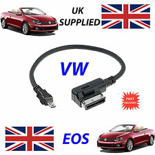 For VW EOS AMI MMI 5G0051763C MP3 PHONE MICRO USB Audio Cable