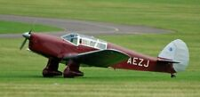 Percival Vega Gull Civil Touring and Trainer Aircraft Wood Model Free Shipping
