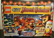 1 LEGO CITY CHRISTMAS ADVENT CALENDARS 7907 ~~ RETIRED ~~ SEALED