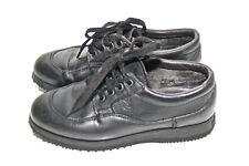 luxueuses sneakers en cuir noir HOGAN pointure 35 EXCELLENT TAT modle mixte