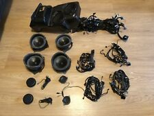 BMW OEM E53 X5 TOP HiFi DSP FULL Set Speackers Tweeters Subwoofer Cables