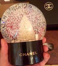 Authentic CHANEL Limited Edition VIP Gift Chanel No 5 Snow Globe Dome NIB