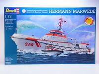 51295 | Revell 05220 Hermann Marwede Seenotrettungskreuzer 1:72 Bausatz NEU OVP