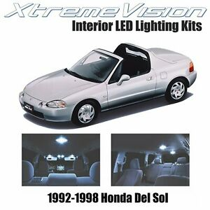 XtremeVision Interior LED for Honda Del Sol 1992-1998 (2 PCS) Cool White