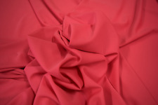 "HOT PINK 100% POLYESTER STRETCH JET SET KNIT FABRIC BY THE YARD 55"" WIDE"