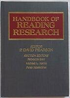 Handbook of Reading Research by Pearson, P. David
