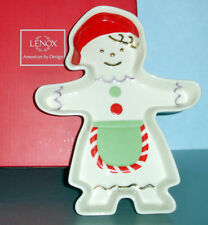 Lenox Gingerbread Girl Candy Dish New in Box