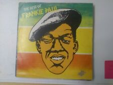 Frankie Paul-The Best Of Vinyl LP 1984 REGGAE DANCEHALL