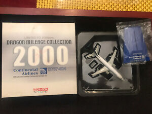 Dragon Wings Mileage Collection LE Continental Airlines B737-824 Die-cast 1:400