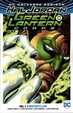 HAL JORDAN AND THE GREEN LANTERN CORPS VOL #1 SINESTRO'S LAW TPB DC Comics TP