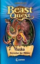 Tusko Herrscher der Wälder / Beast Quest Bd.17 von Adam Blade (2011, Gebundene A