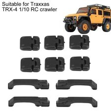 Accessories Car Door Handles Hinges for Traxxas TRX-4 1/10 RC Decor Replacement