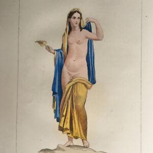 [Curiosa] Musée de Naples Peintures Érotiques du Cabinet Secret 60pl. H.T. —1857