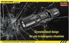 NITECORE P20 TACTICAL LED FLASHLIGHT 800 LUMENS CREE LED with 3 MODES & HOLSTER