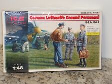 ICM #48085 1/48  WWII GERMAN LUFTWAFFE GROUND PERSONNEL FS