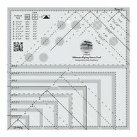 ULTIMATE FLYING GEESE RULER~CREATIVE GRIDS~CGRDH4
