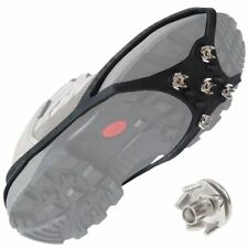 Anti Slip Ice Snow Grip Nails Hiking Ground Grippers Shoes Spikes Mountaineering