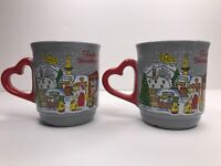 Set Of Two Heidelberg Germany 2011 Christmas Market Coffee Mug Heidelberger