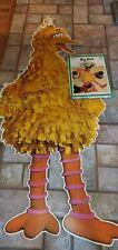 Vintage 1973 BIG BIRD Giant Floor Puzzle 6FT  W/ Original Box .Sesame Street
