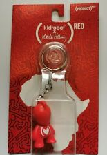 Kidrobot x Keith Haring red Art for Africa Keychain - Kidrobot mascot