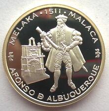 Portugal 1995 Afonso Malaca 200 Escudos Silver Coin,Proof