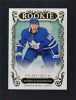 2018-19 UD Upper Deck Artifacts Rookies #179 Andreas Johnsson /999 RC