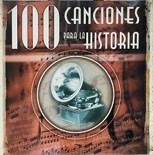 100 Canciones Para La Historia 2Cds Various Artists CD 2001 BMG Puerto Rico