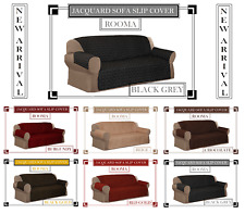 Jacquard Sofa Slip Cover for 1, 2 & 3 Seater in 6 colours (New Arrivals)