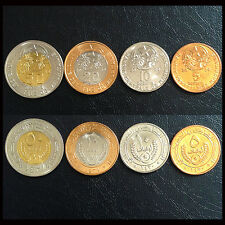 Mauritania Set 4 Coins, 5+10+20+50 Ouguiya, 2009-2010, A-UNC
