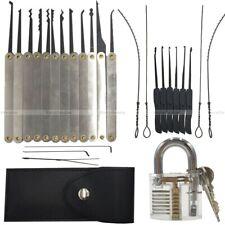 lockpicking lock pick set tools practice padlocks unlocking crochetage serrure !