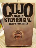 Cujo by Stephen King 1981 TRUE RARE 1st Edition 7th Print HB DJ Acceptable Cond!