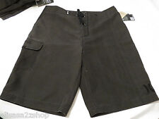 Hurley 00A black 32 board walk shorts Men's swim MBS0001830 One and Only Washed