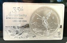 "Mexico 2017 ""35th Anniversary of the Mexican"" Silver Libertad Special Addition"