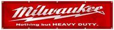 Milwaukee Tools Automotive Garage Mechanic 2x8ft Banner