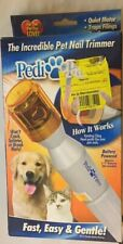 New Pedi Paws Pet Nail Trimmer Clipper Grooming Tool Dog Cat imperfect scratched