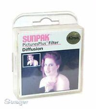 62mm Sunpak Diffusion Lens Filter