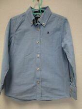 Gaastra Hemd blau weiß kariert Gr.116 (Z26)