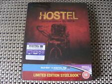 Blu Steel 4 U: Hostel : Limited Edition Steelbook With UV&DD Sealed Region Free