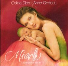CD AUDIO.../...CELINE DION & ANNE GEDDES.../...MIRACLE....