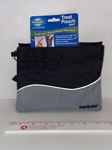 PETSAFE Treat Pouch Pet Training And Dog Walking Accessory Black /Gray New