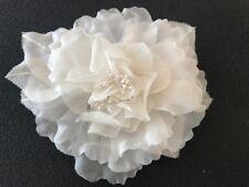 Large silk chiffon ivory Peony Rose flower / artificial flower / wedding flower